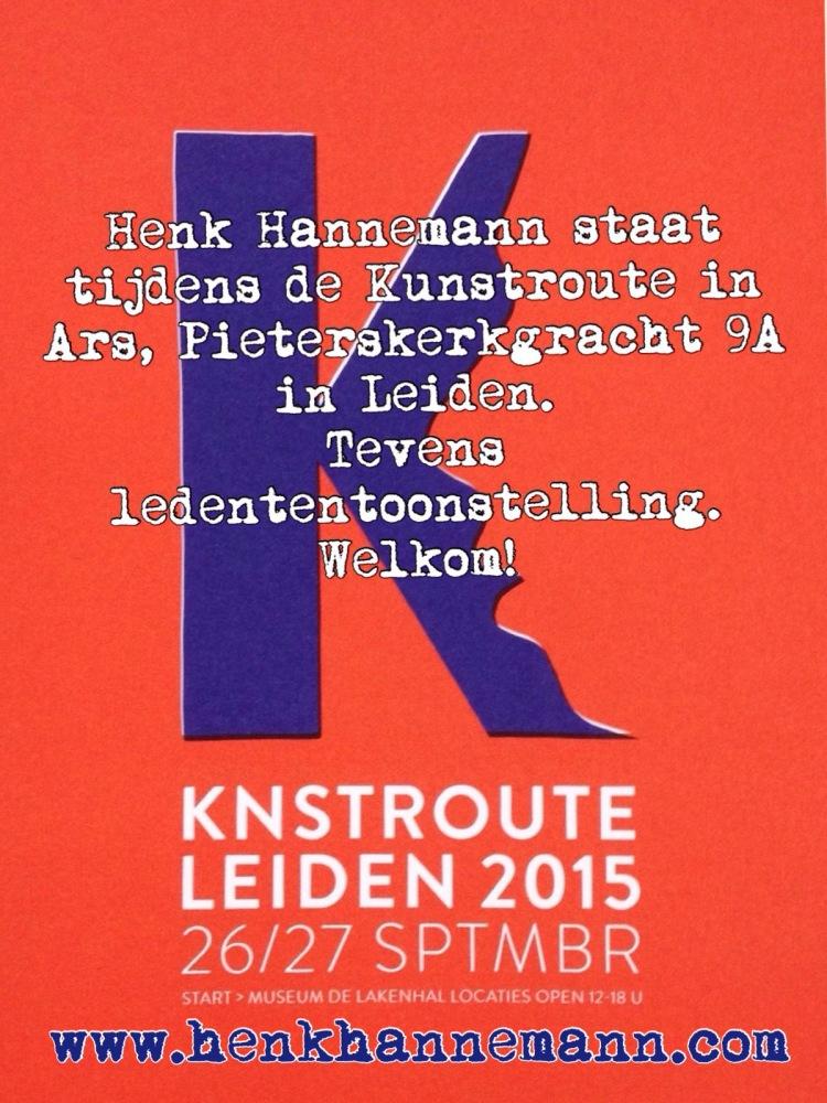 Kunstroute Leiden 2015